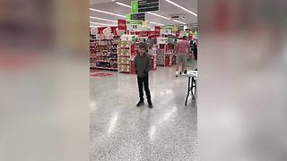 Autistic Boy Starts Singing In A Supermarket, Leaves Shoppers In Awe - Video