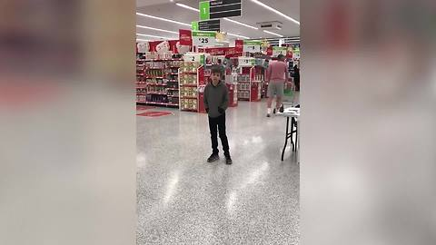 Autistic Boy Makes Shopping Pleasant In A Supermarket When He Starts Singing