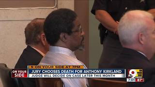 Jury chooses death for Anthony Kirkland - Video