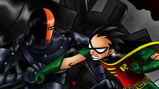 Top 5 FIGHTS in Teen Titans Cartoons - Video