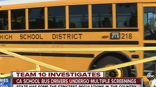 California school bus regulations among strictest in nation - Video