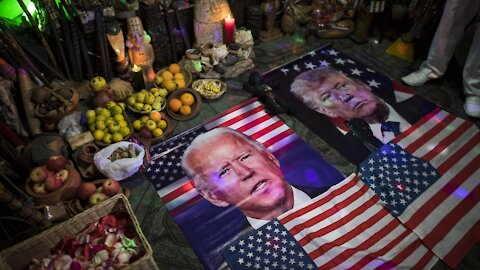 Debate Night: Trump And Biden Clash On Election Issues