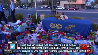 CHiPS for Kids drop off runs until 6 p.m. Friday