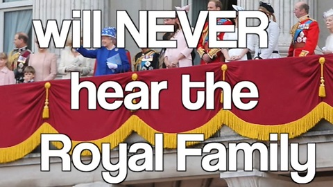 8 Words you will NEVER hear the Royal Family say