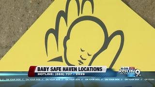 The safest place a mother can leave her newborn baby