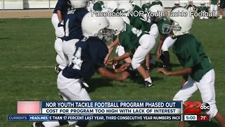 NOR ends Youth Tackle Football program