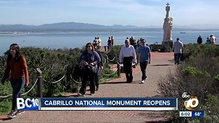 Cabrillo National Monument Reopens