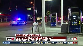 Robbery investigation at Lehigh Acres Circle K store - Video