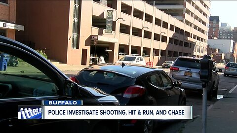 Police investigate shooting, hit and run case