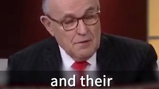 Rudy Giuliani To Lead Them Of Experts On Cyber Security - Video