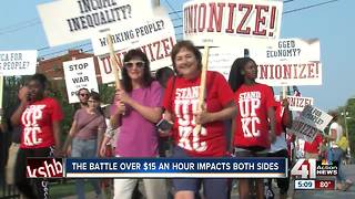 City ordinances, state laws reveal unclear future for KC minimum wage hike - Video