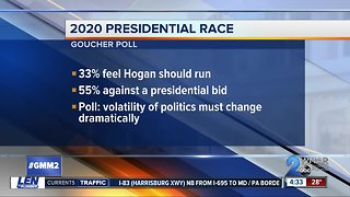 Goucher Poll looks at Hogan and Trump's approval, 2020 presidential race