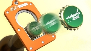 How to Perform A Simple Bottle Cap Trick  - Video