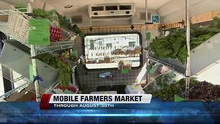 Boise Farmers Market is mobile on weekdays - Video