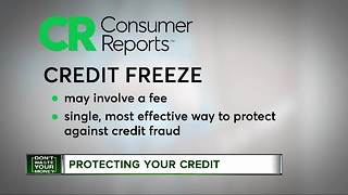 Fraud alert vs. credit freeze - Video