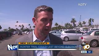 Duncan Hunter trial could last beyond election