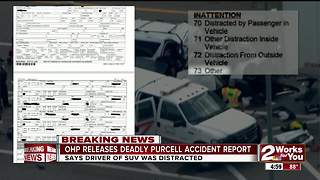 Oklahoma Highway Patrol report: Driver of SUV in deadly Purcell crash was distracted - Video