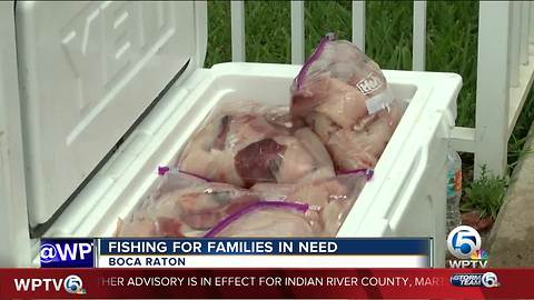 'Fishing for Families in Need' collects fish donations to feed local families