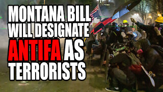Montana Bill Would Designate Antifa as Domestic Terrorism