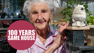 Great-grandmother lived in the same house which she was born in 100 YEARS ago - Video