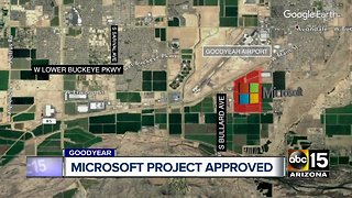 Microsoft project approved
