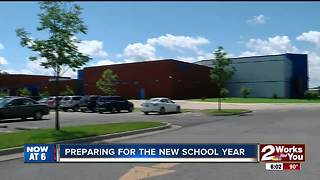 Middle school Classrooms almost ready at new Webster campus - Video
