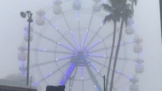 Fog Sweeps Through Kissimmee, Florida - Video