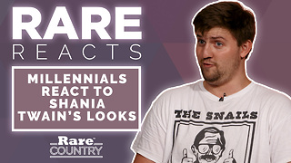 Millennials React to Shania Twain Looks | Rare Reacts - Video