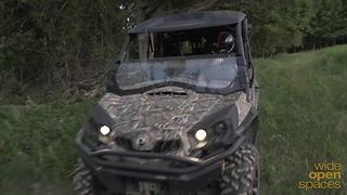 Can-Am Commander Hunting Edition Test Drive
