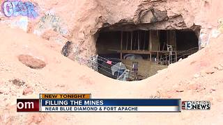 Popular Las Vegas mines set to be filled - Video