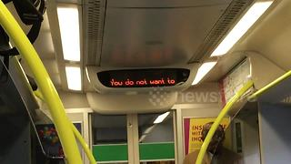 UK rail firm channels Rihanna for weather safety announcement - Video
