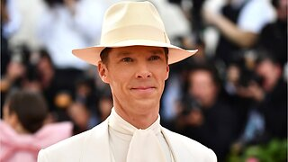 Benedict Cumberbatch gives nod to Marvel character in met gala outfit
