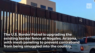 Trump Administration Upgrading Border Fence At Key Entry Point - Video
