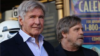 Harrison Ford reacts to Mark Hamill's impression of Him