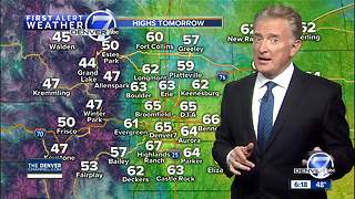 From spring-like weather to snow; changes coming to Colorado - Video