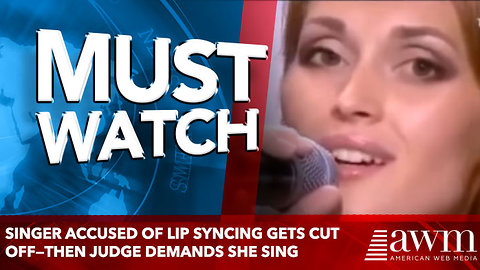 Singer Accused Of Lip Syncing Gets Cut Off—Then Judge Demands She Sing
