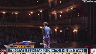 Sycamore High student gives TED talk in Austria - Video