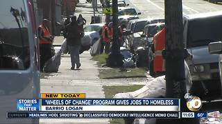 'Wheels of Change' program for the homeless - Video