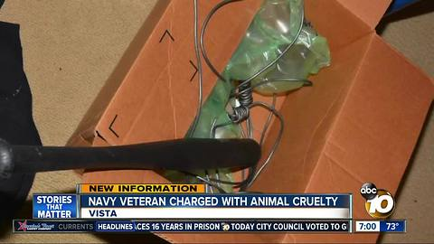 Animal cruelty charges leveled