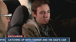 Catching up with Tanner and his dad's car