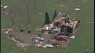 Ashtabula County storm damage - Video