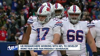 NFL working with Buffalo researchers to make schedule more 'fair'