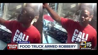 Silent Witness offering $1k reward offered for armed food truck robber - Video
