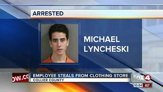 Employee Steals from Clothing Store