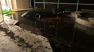 Family wants protection after car crashes into pool on New Year's - Video
