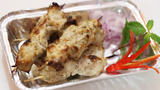 Creamy chicken kebab recipe - Video