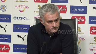 Jose Mourinho slams Manchester United players for being childish - Video
