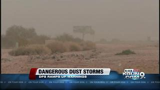 More dust storm safety warnings come after deadly I-10 crash - Video