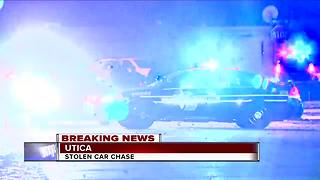 Carjacker shot during car chase - Video