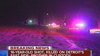 Police: Teenager shot and killed by his own brother - Video